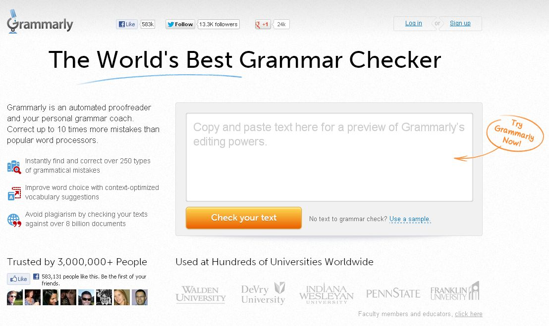 Click Here to Try Grammarly for Yourself!