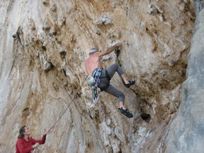 I adore rock climbing!!