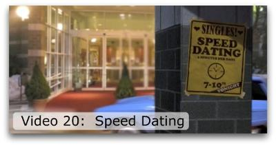 Speed dating brussels english